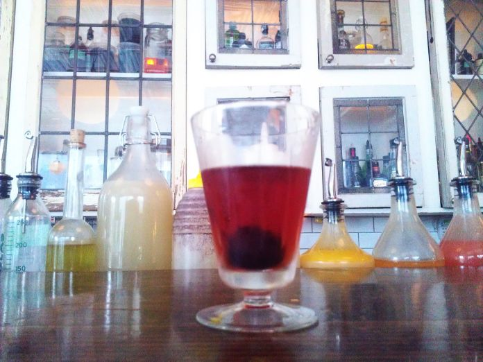 I mean, it -could- be a Negroni. I really don't recall.